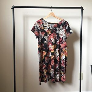Floral Tee Dress, size M